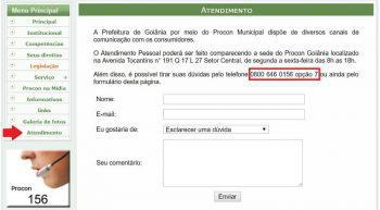 Procon Goiânia | Endereço e Telefone de Contato