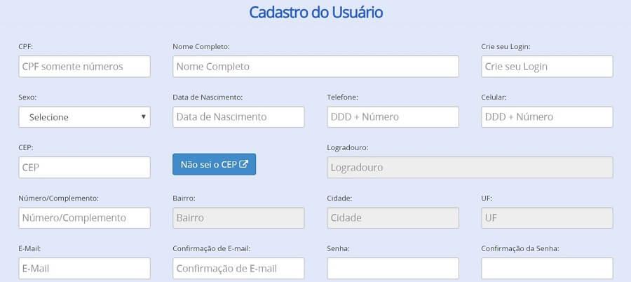 cadastro site consumidor gov br